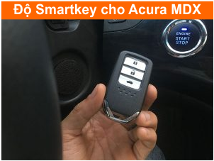 Do smartkey cho Acura MDX